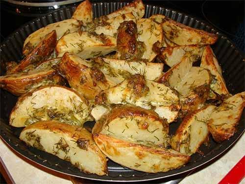 Маринованная картошка