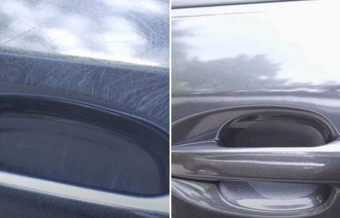 Как избавиться от царапин под дверной ручкой автомобиля за считанные минуты водители