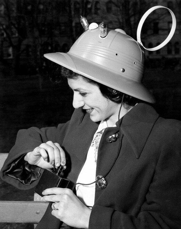 Радио-шляпа: Американский МР-3 плеер образца 1949 года. история, ретро, фото