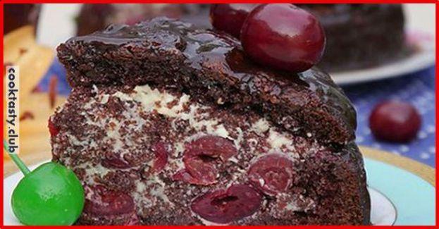 Торт -Пьяная вишня-
