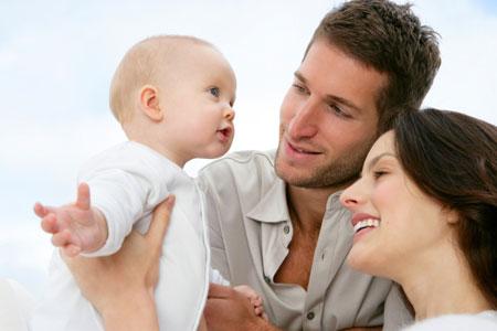 Как дети в разном возрасте видят маму и папу