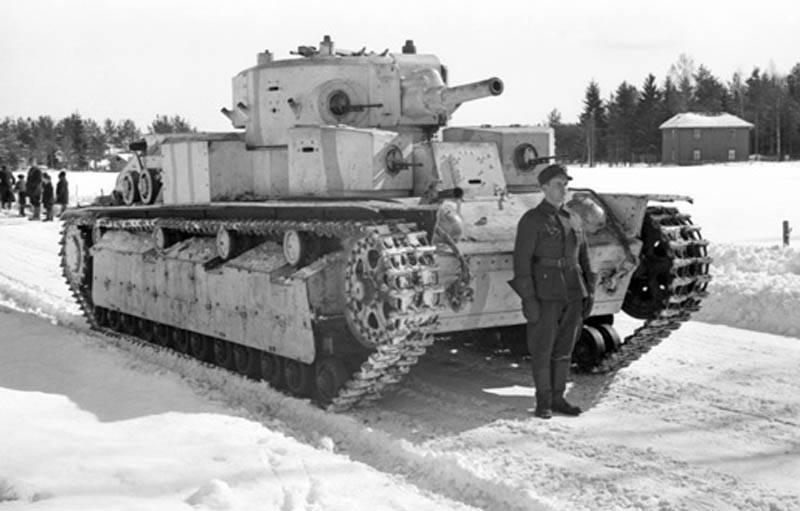 Как советские танки оказались в финской армии: повествование о Т-28 оружие,танки