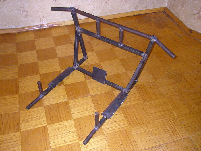 Как сделать брусья в квартире фото 377