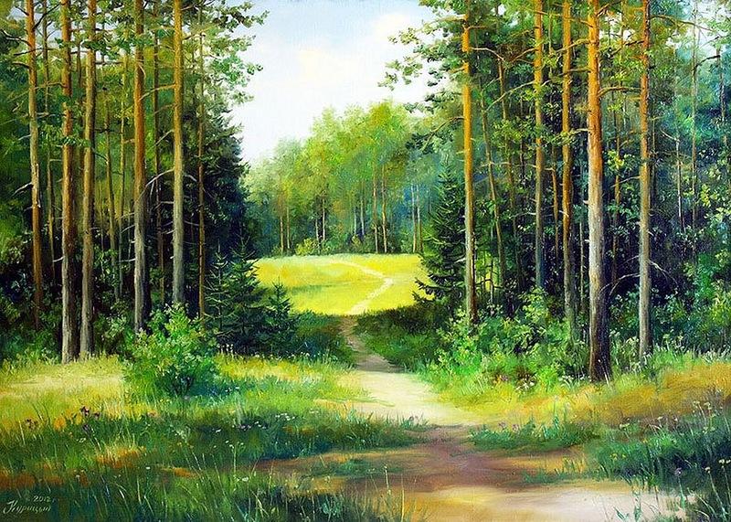 этого лес живопись картинки если кто знает