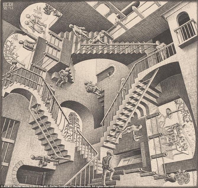 Оптические иллюзии от мастер…