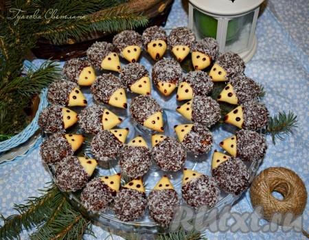 "Вот наше печенье ""Ёжики"" и готово!"