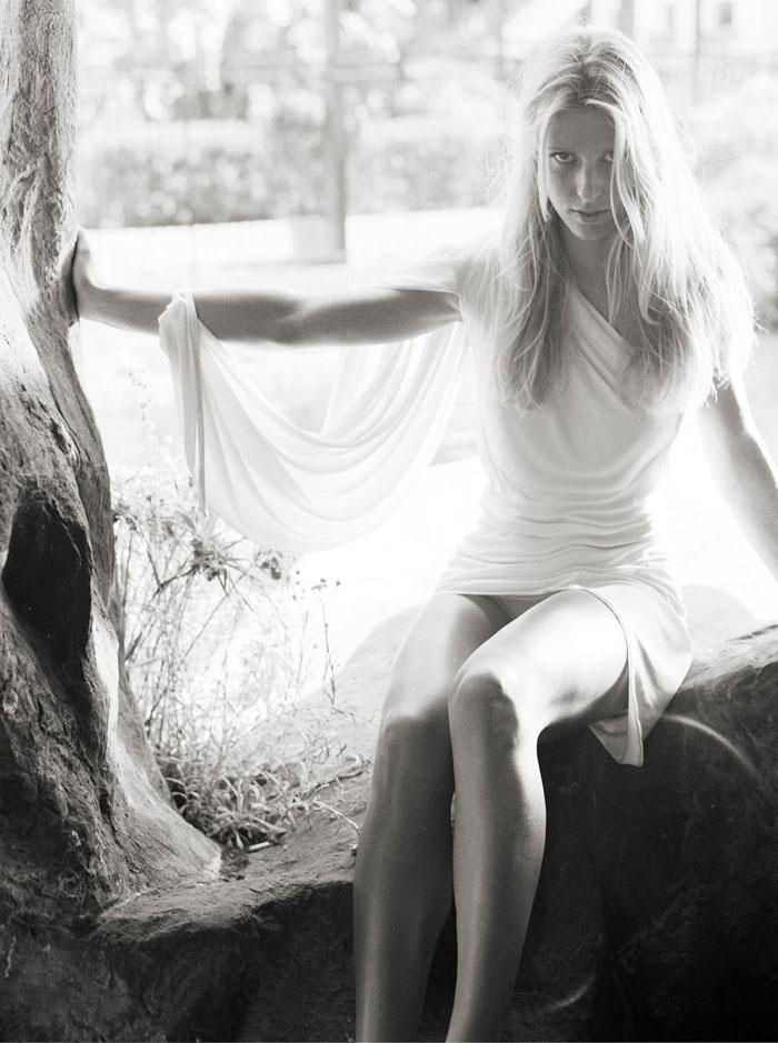 Елена Дементьева Фотосессия для журнала GQ октябрь 2002