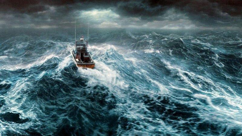 Тихий океан на самом деле совсем не тихий интересное, мировой океан, океан, факты