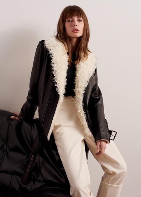От платьев из конопли до дубленок эпохи перестройки: лукбуки новых коллекций Мода,Новости моды