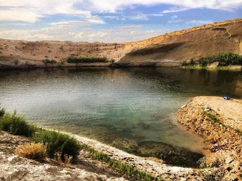 Лак-де-Гафса - озеро, родившееся за ночь