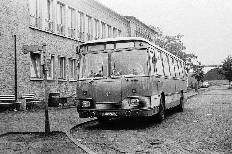 ЛиАЗ-677Э в ГДР,1970-е история, ретро, фото