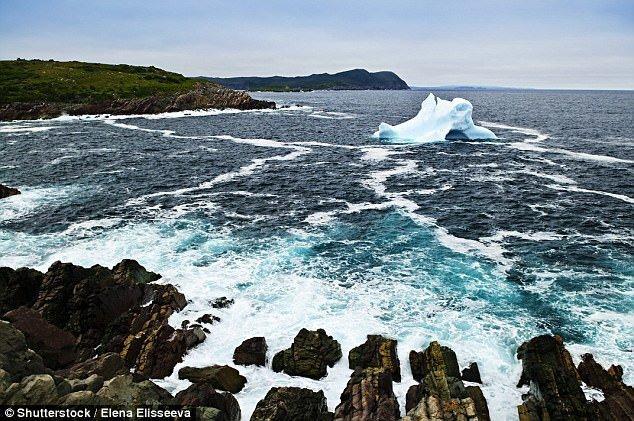 Айсберги откалываются от острова Гренландия и спускаются по течению вдоль побережья Ньюфаундленда - самой восточной точки Канады. айсберг, канада, красиво, океан, путешествия, туризм, туристы, фото