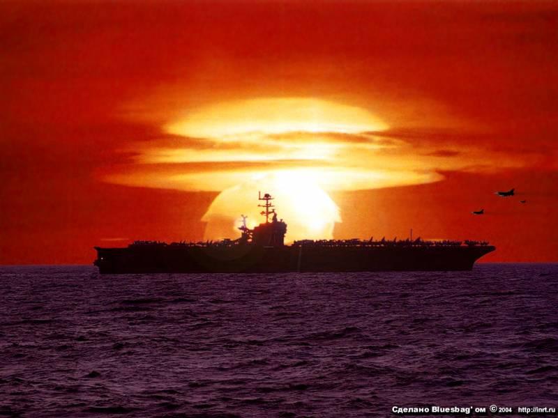 РФ против НАТО. Роль авианосцев в ядерном конфликте