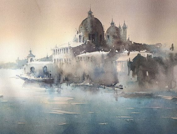 The Watercolour Log: More Paintings- Jeanine Galizia