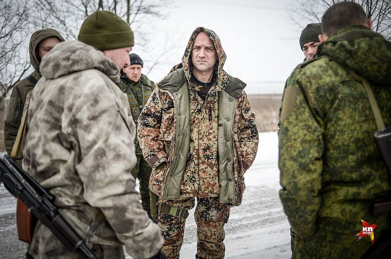 Захар Прилепин: О моей службе в армии ДНР. Пушкин меня туда заслал