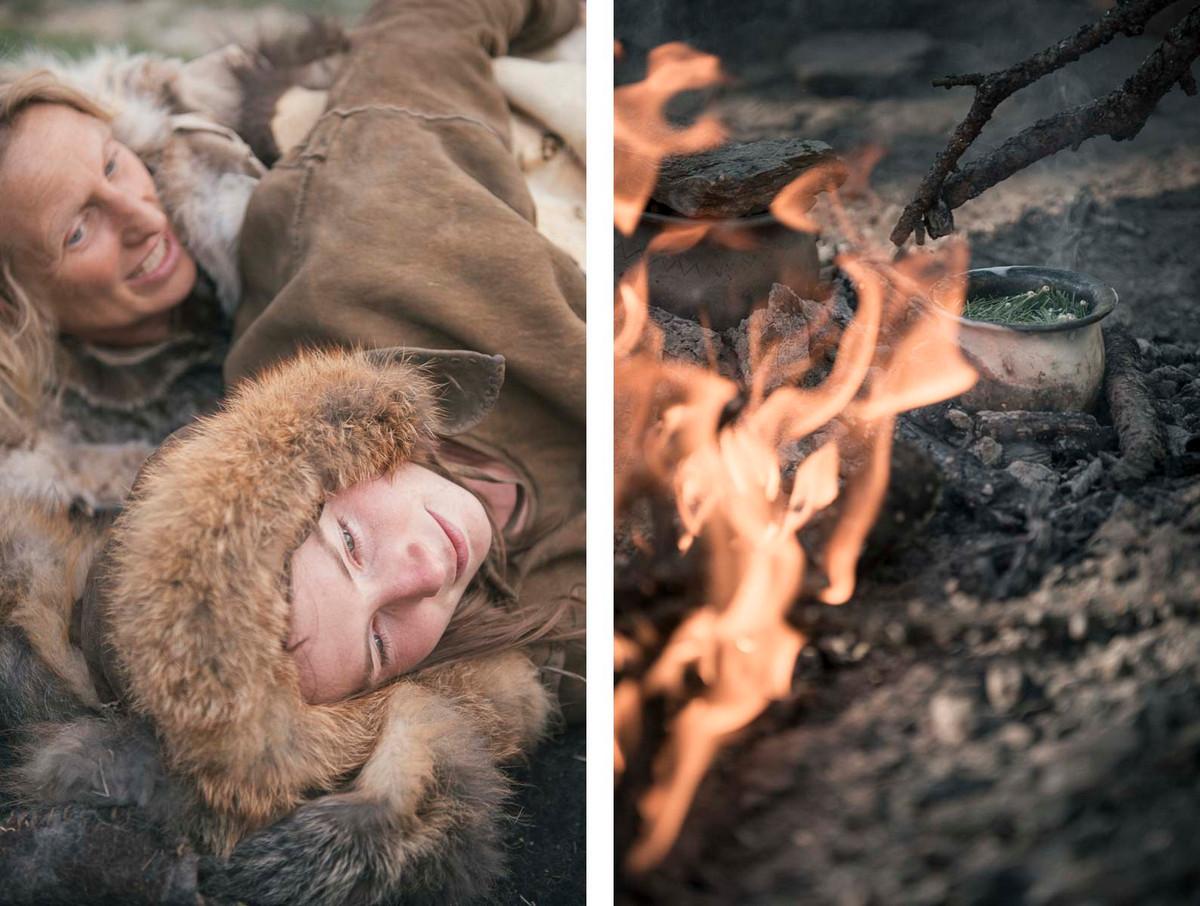 Назад в палеолит: охотники-собиратели 21-го века в фотопроекте «Живущие дикими» 8