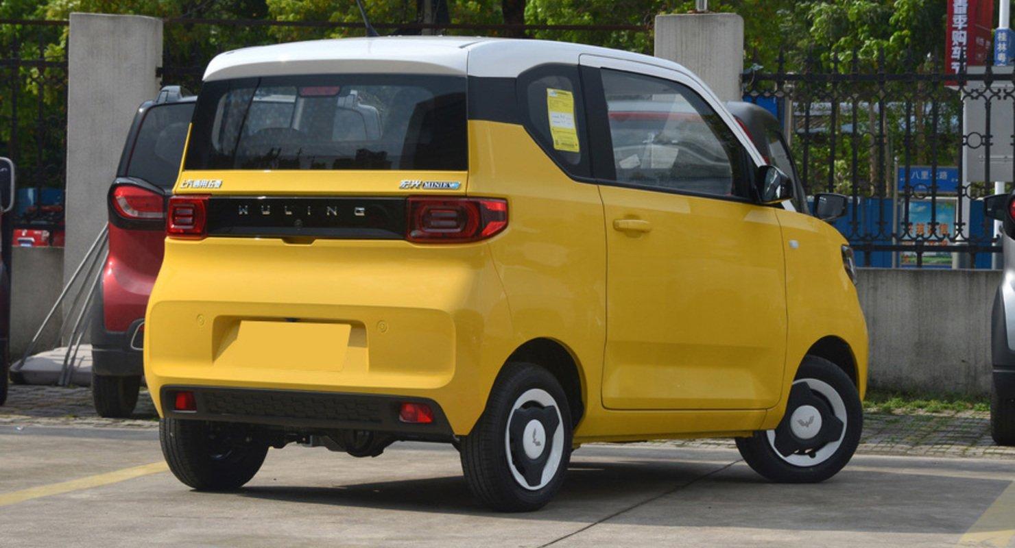 Электрокар Wuling Hongguang Mini EV опередил по продажам Toyota Corolla Автомобили