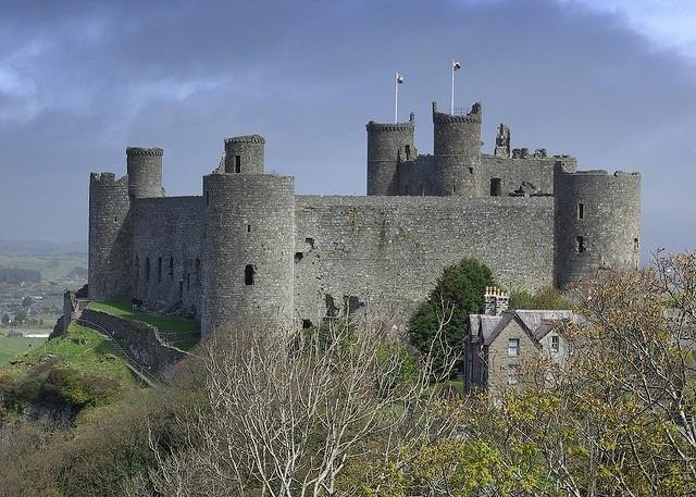 Замок Харлех, Уэльс, Великоб…