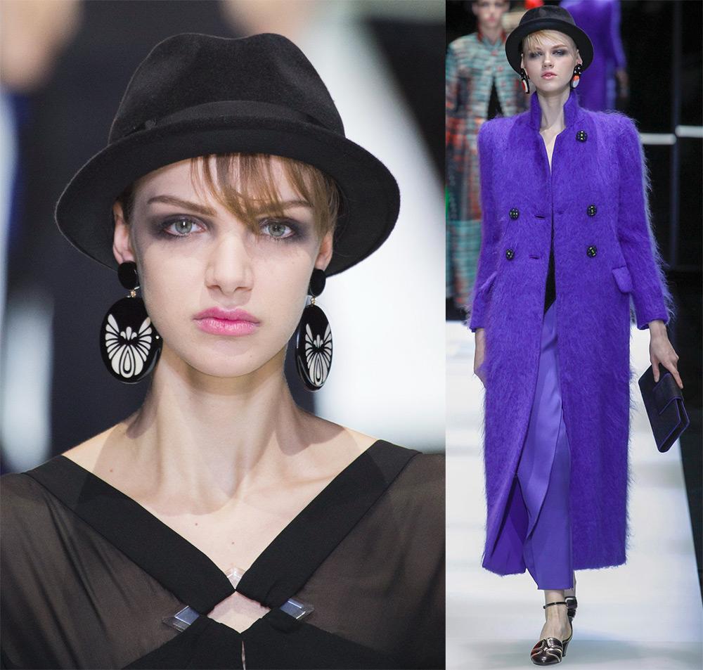 Модные тенденции — женские шляпы осень-зима 2017-2018
