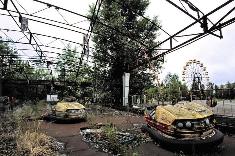 Припять - город, замерший во времени Чернобыль, чернобыльская катастрофа