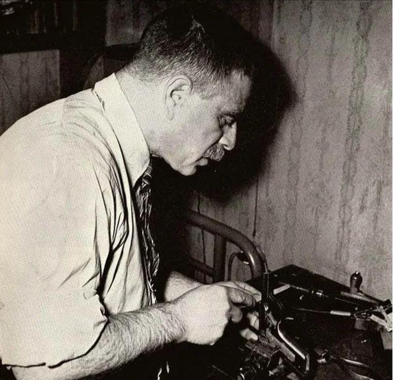 Михаил Марголин — слепой советский оружейник