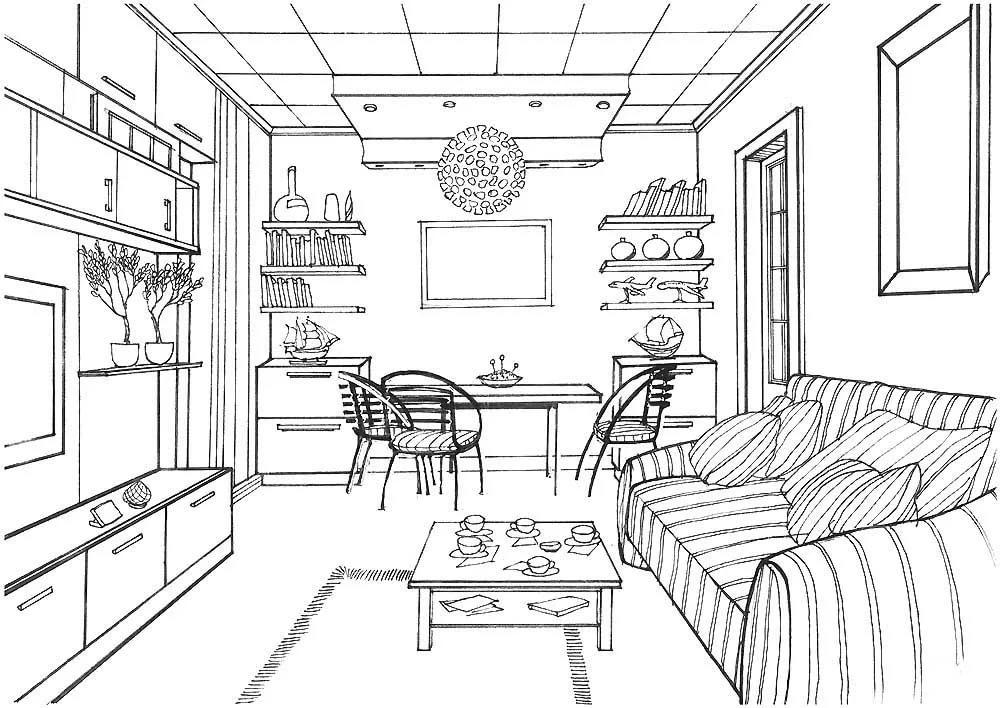 базе рисунок про квартиру первом пункте уже