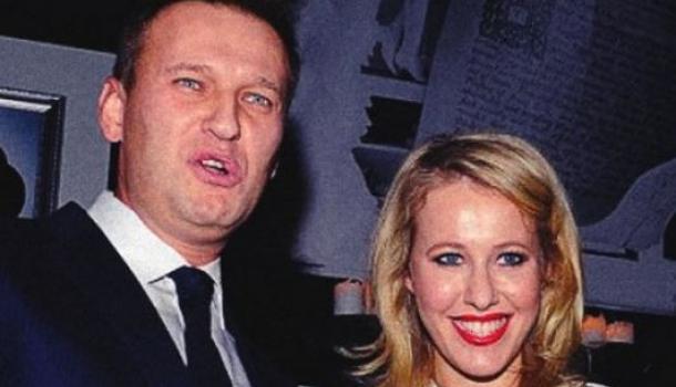 Собчак и Навальный разругали…