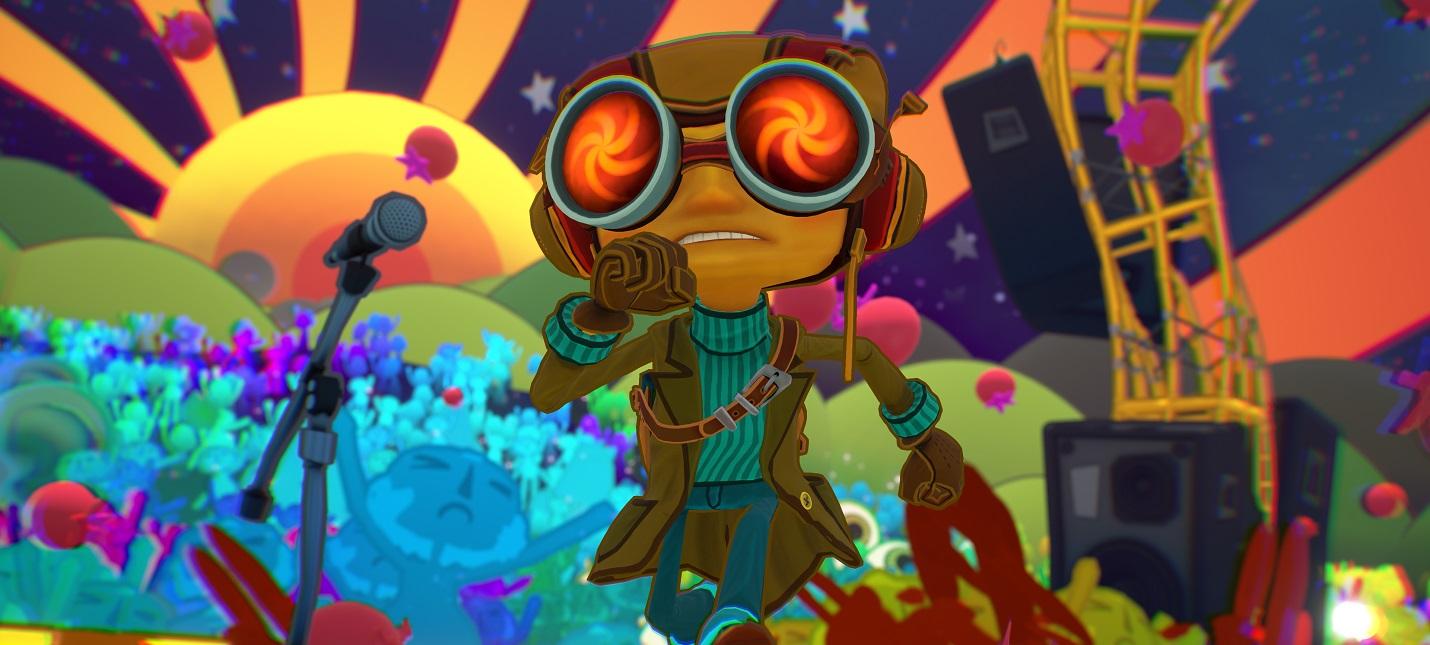 Psychonauts 2: три минуты нового геймплея adventures,fantasy,pc,ps,xbox,Аркады,Игры,Приключения,Фентези