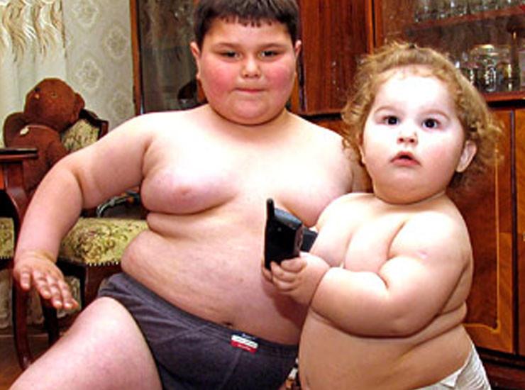 Откуда берутся толстые дети