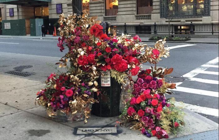 Флорист украсил городские ул…