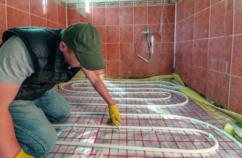 Теплый водяной пол в частном доме: устройство и преимущества, монтаж