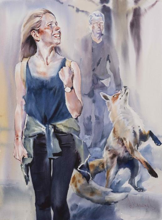Andrey-Esionov-Foxy-lady (517x700, 348Kb)