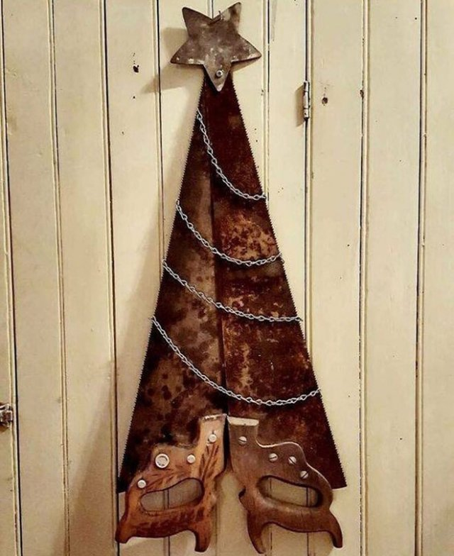 Креативные украшения к Новому году