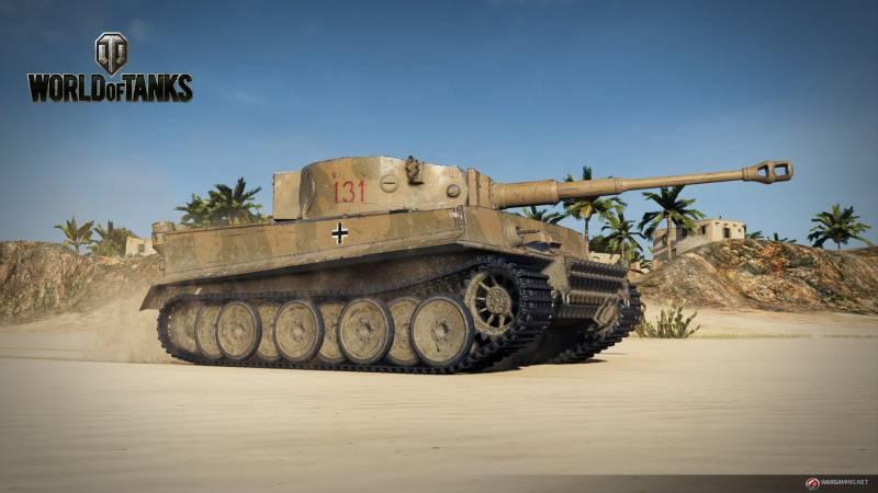 Немецкая легенда: детальный обзор «Тигра 131» оружие,танки