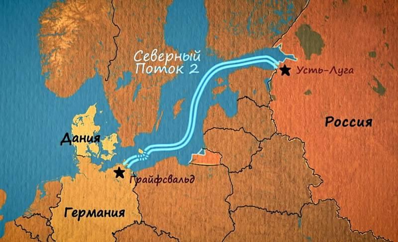 Названа  дата начала поставок газа по «Северному потоку-2» Новости