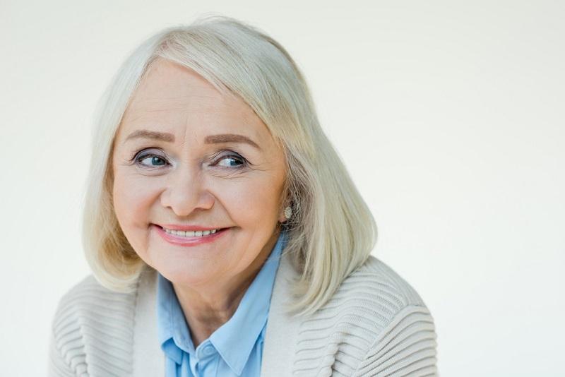 красивая зрелая женщина