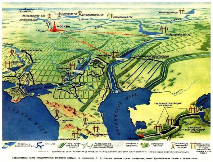 Свёрнутые проекты Сталина: чего мы лишились после марта 1953-го