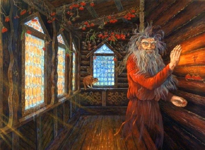 Сельские жители свято верили, что нож и ножницы под подушкой защитят их от злых духов / Фото: vk.com
