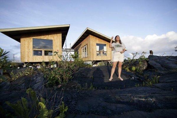 Вулкан на Гаваях (9 фото)