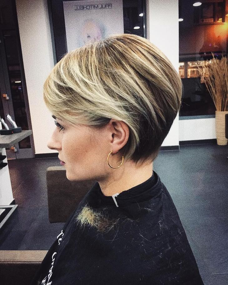 Стрижки после 40 лет на разную длину волос фото 3
