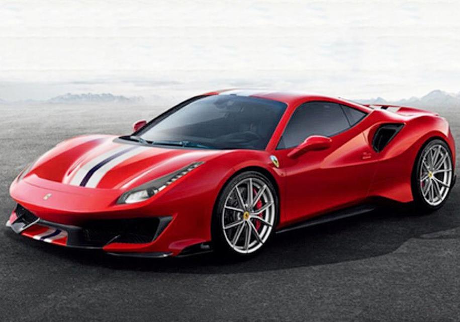 Хардкорный суперкар Ferrari …