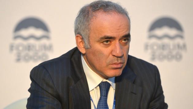 """Каспаров предупреждает: """"Пут…"""