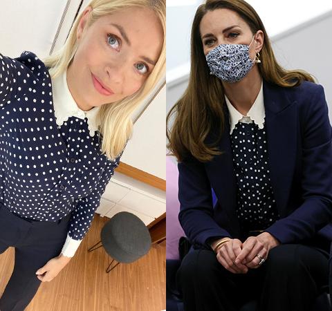 Модная битва: Холли Уиллоби против Кейт Миддлтон