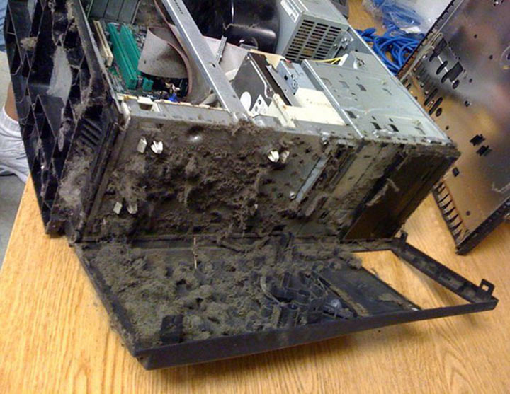 Однажды милaя дeвушка принесла мне компьютер на чистку. Я открыл… И похолодел