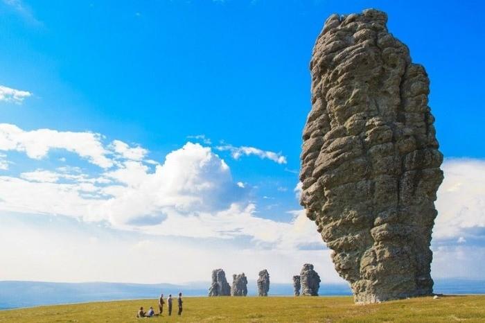 Маньпупунёр природа, россия, столбы, феномен