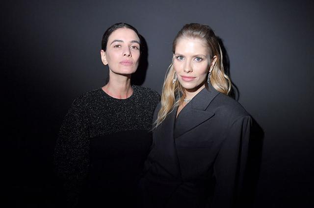 Джиджи Хадид, Наоми Кэмпбелл, Елена Перминова и другие на вечеринке Карин Ройтфельд в Париже Мода