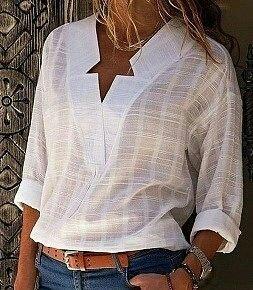 Выкройки стильной хлопковой блузы