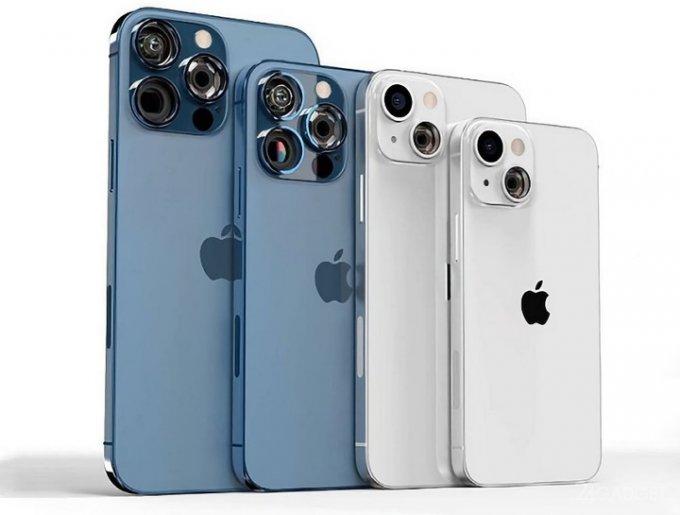 Представлен дизайн нового поколения Apple iPhone 13 с прозрачным модулем камер