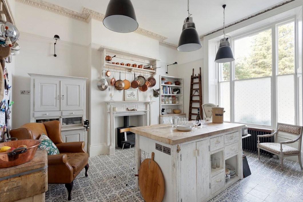 Оригинальный дизайн кухонного пространства