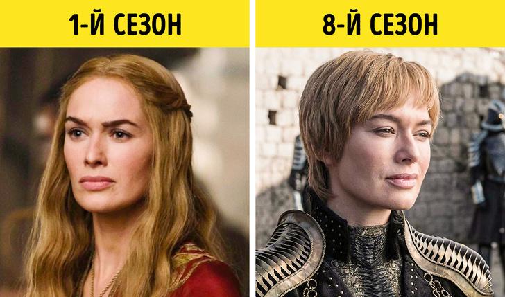 Посмотрите, как изменились герои -Игры престолов- за 8 сезонов